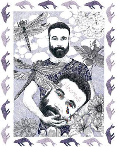 el dios de los tres, el dios d los tres ilustración, ilustración, ilustradres famosos, ilustradores españoles