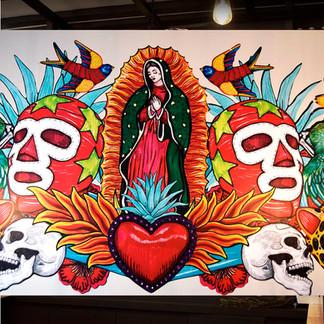 Murales Corazón de Agave