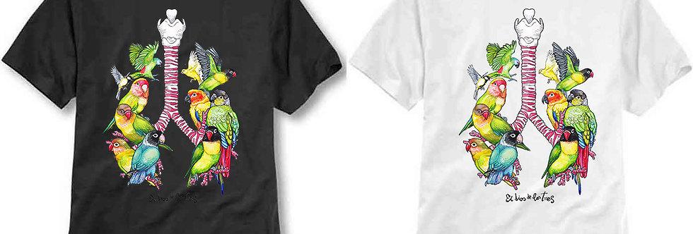 T-shirt ilustrada El dios de los tres Apnea