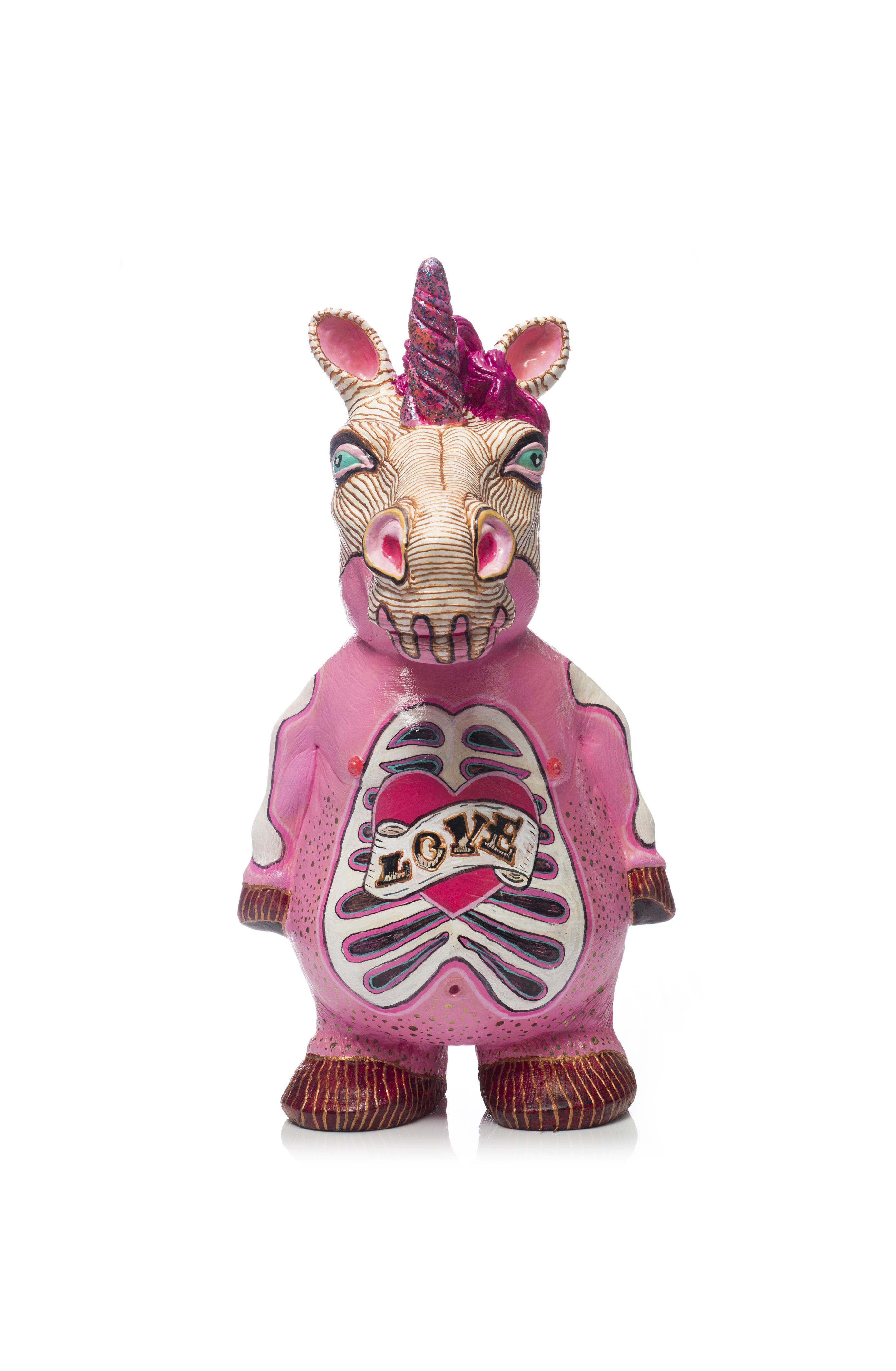 Unicornio costumizado para Ornamante