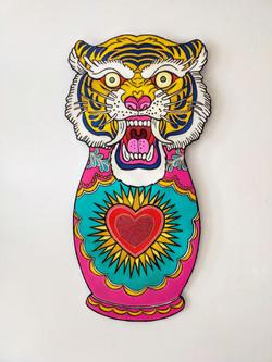 tigre el dios de los tres
