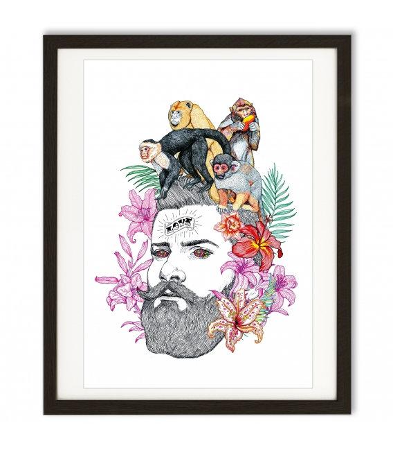 el dio e los tres, ilustración, ilustrador, ilustradores españoles, ilustradores famosos