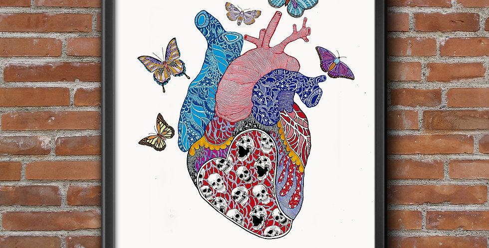Corazón Mariposas