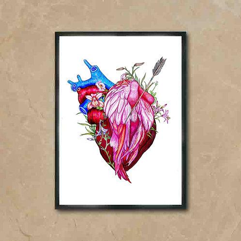 Corazón flamenco