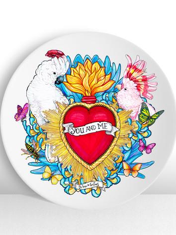 plato-ceramico-ilustracion-tu-y-yo