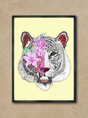 lamina-ilustracion-tigre