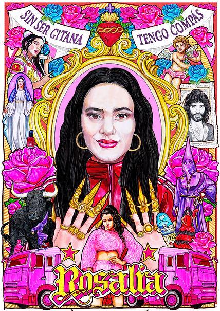 Rosalia retrato El dios de los tres