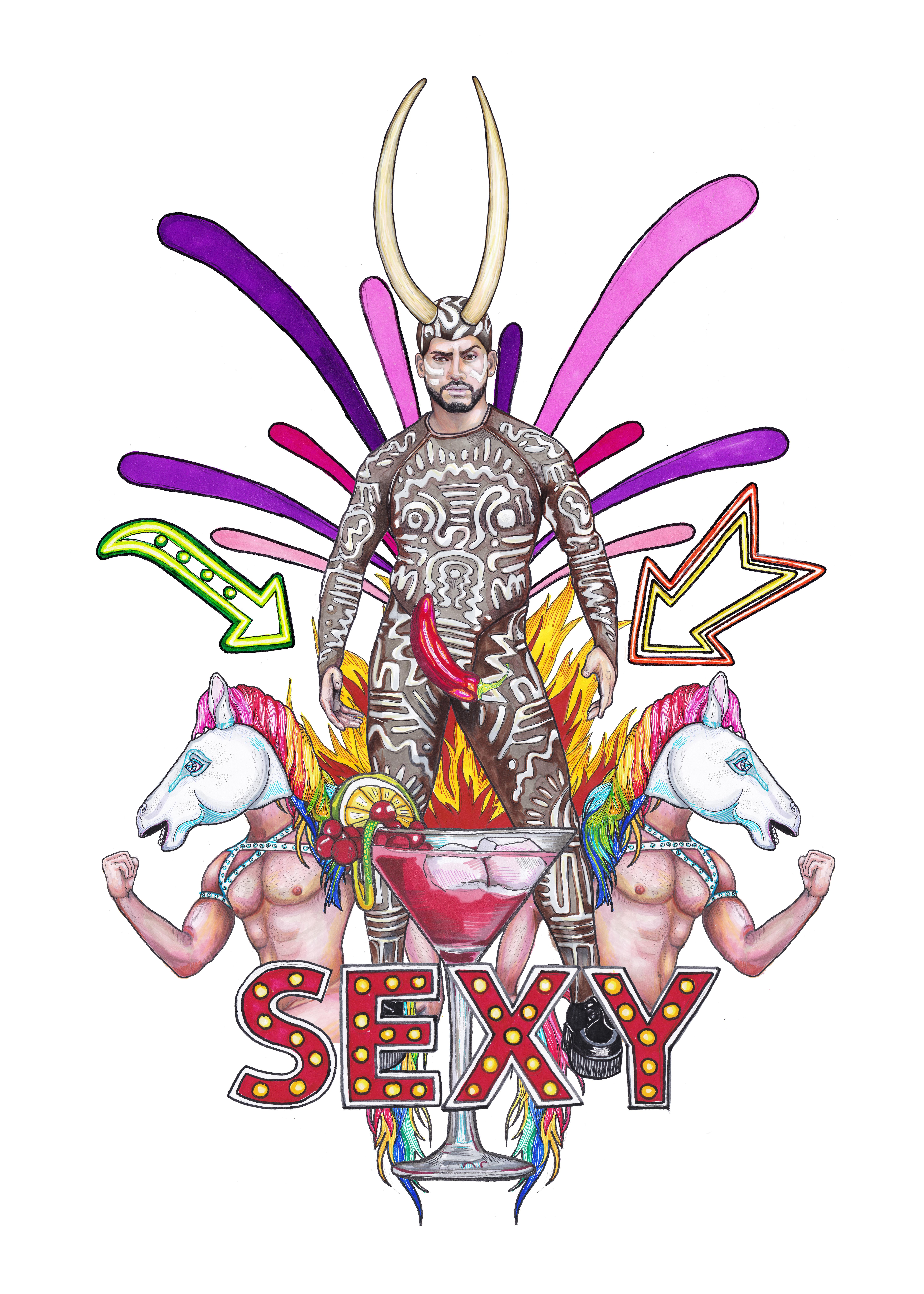 Sexy para The Hole Zero