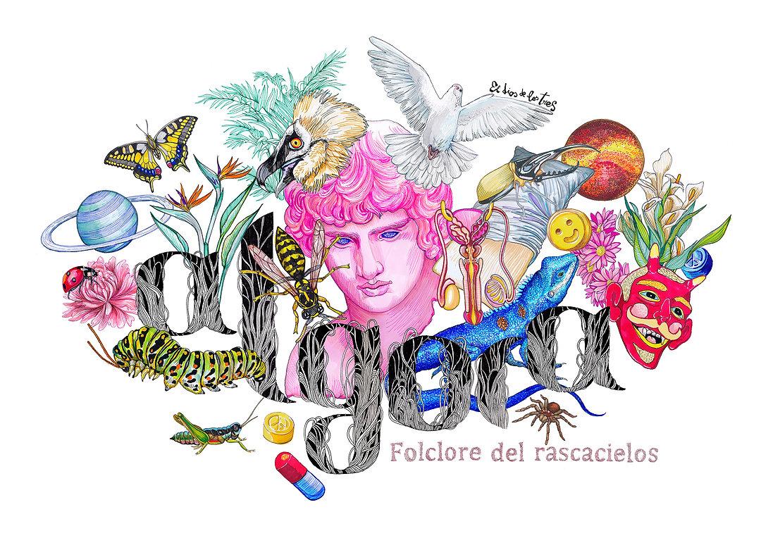 el dios de los tres, ilustración, ilustrador, ilutraores españoles, ilustracion barcelona, ilustradores famosos, ilustradores madrid, ilustradores famosos