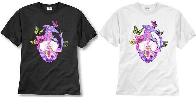 T-shirt ilustrada El dios de los tres SITUACIÓN DE EMERGENCIA