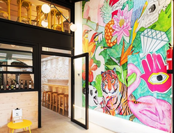 Mural para restaurante The Butcher
