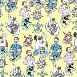 Hablame del mar marinero pattern el dios de los tres