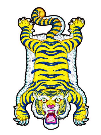 tapiz-ilustracion-tigre-tibetano