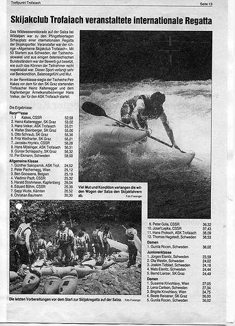 Bericht Regatta ÖMS 1984