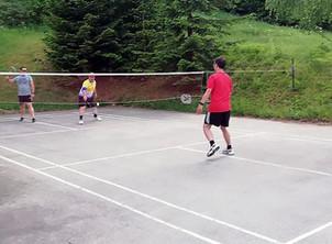Badmintonspieler starteten in die Outdoorsaison