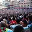 In der Menschenmenge am Palio