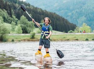 Saisonauftakt der Paddler am See
