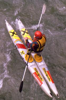 skijak fluss