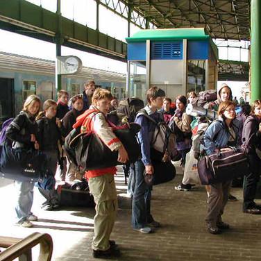 Zugfahrt Florenz - Livorno