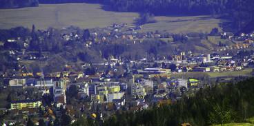 Trofaiach Panoramablick von Westen
