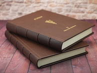 Custom Leather Bound Books