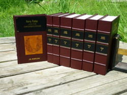 Harry Potter Leather Book set