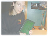 Bookbinder Lindsey Julow