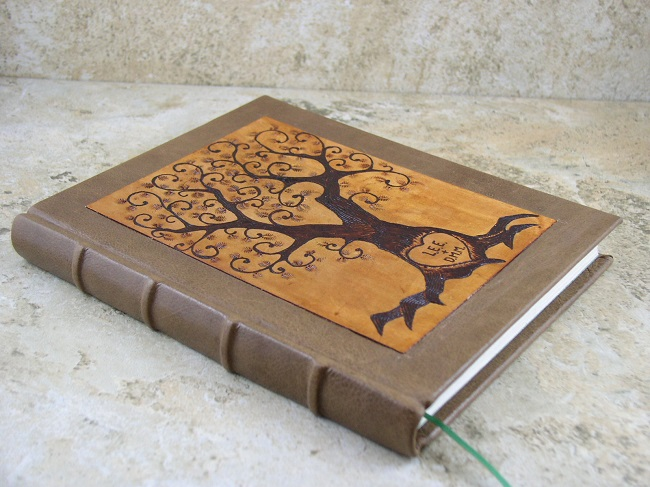 Hand Tooled Tree Custom