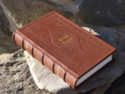 Custom Leather Bound Book