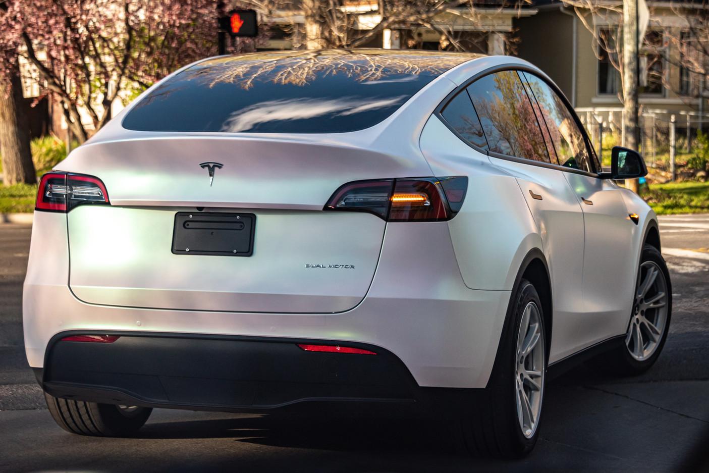 Tesla Y: Wrap, PPF, Tint