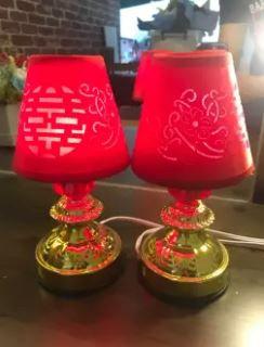 双喜床头灯 (71) (LED) Wedding Bedside Lamp (LED)
