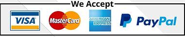 We Accept paymen