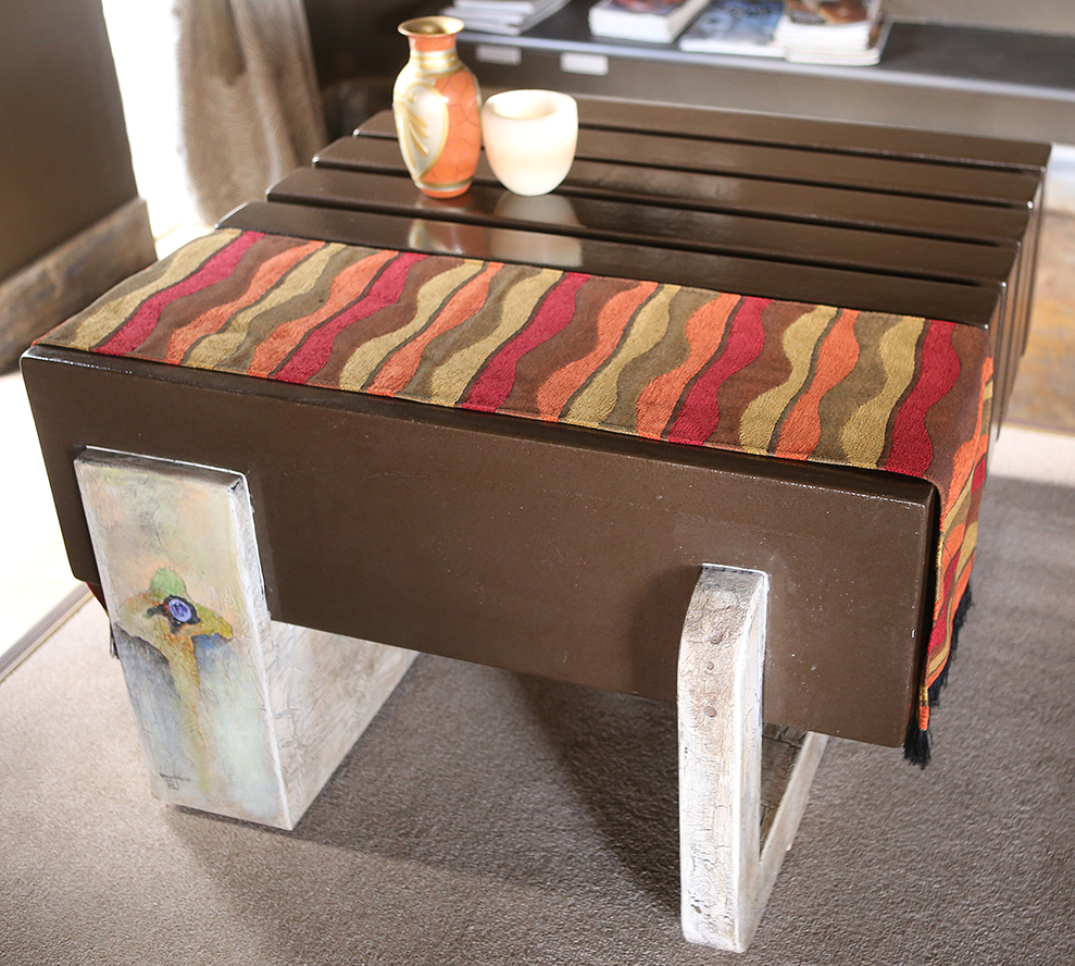 'ZEBRA COFFEE TABLE'