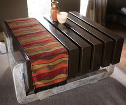 'ZEBRA COFFEE TABLE'