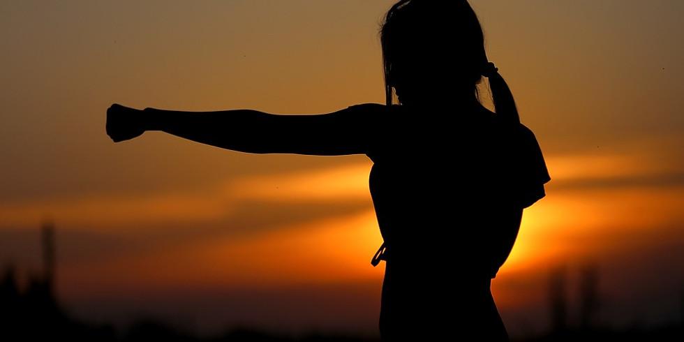 Séminaire de self defense feminine.