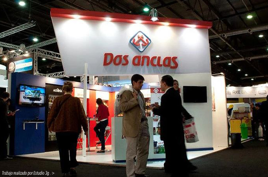 STAND DOS ANCLAS