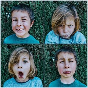 Caras de Sentimientos · Lámina Descargable