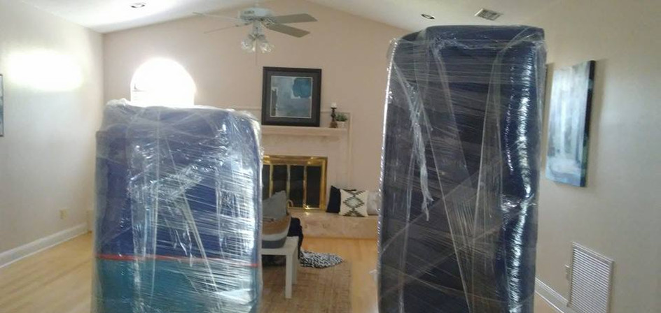 Properly wrapped couches