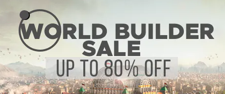 WORLD BUILDER SALE - Humble Store Upto 80% OFF