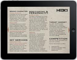 Medici Restaurant Branding Manual