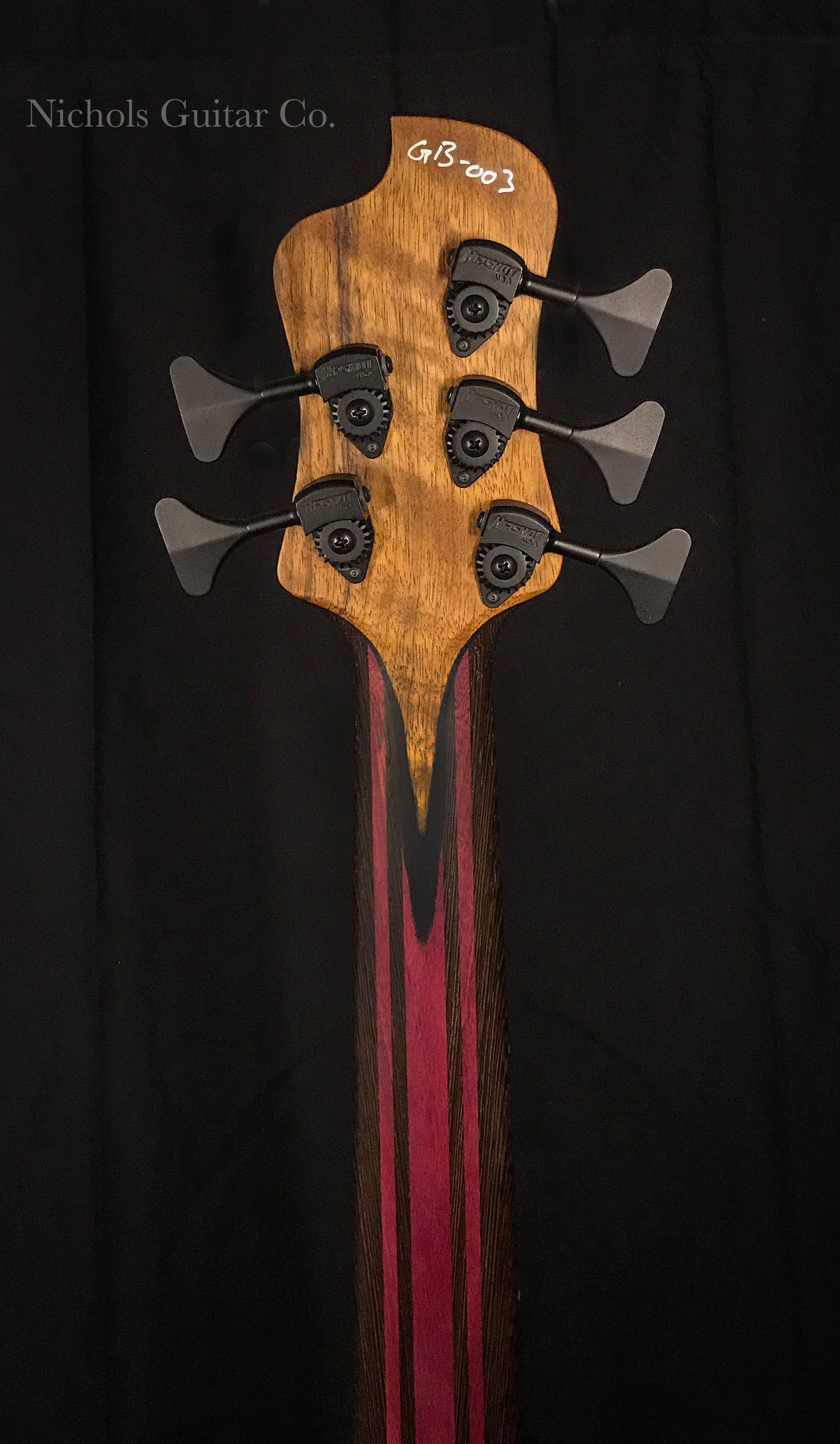 NGCo Gene headstock back
