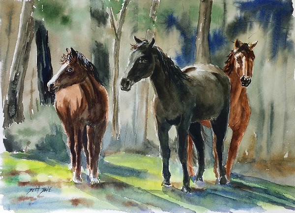 3 Horses5 complete small