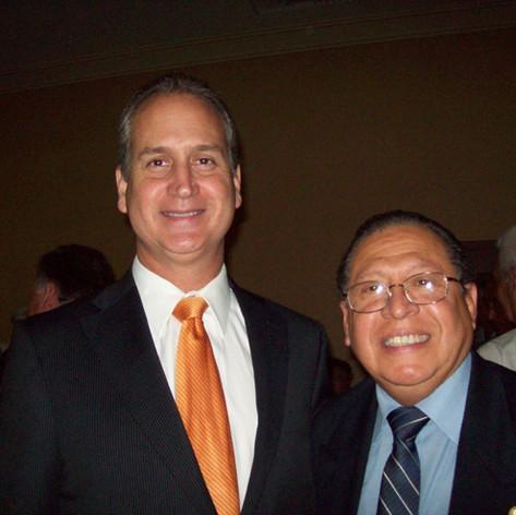 Congresista Norteamericano Mario Diaz Balart & Kermit Mantilla