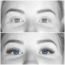 wimperextensions hybrid