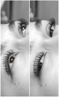 One by one flatlashes