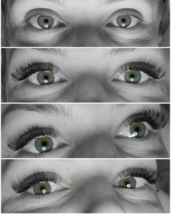 One by one volume lashes