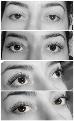 One by one flatlashes 0.15