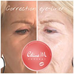 correction eye-liner