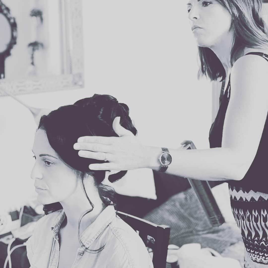 coiffure mariée bouclée