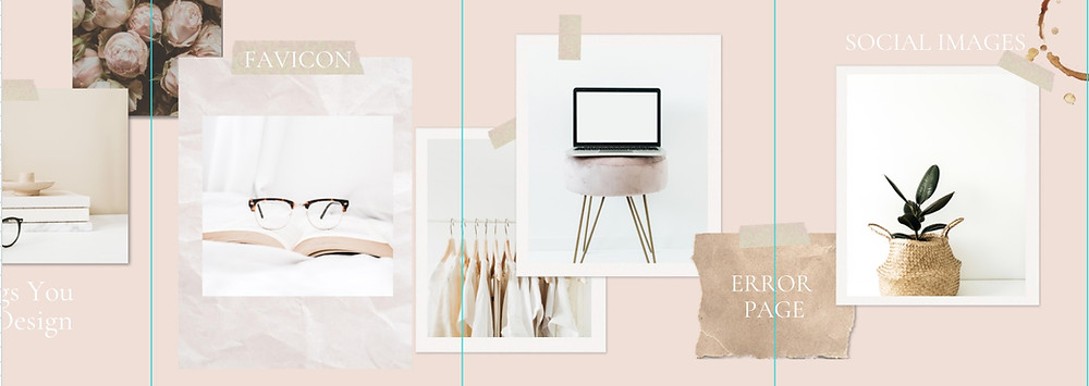 Canva Carousel example showing elements on the fold of the square